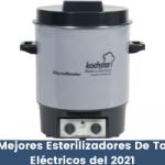 Los Mejores Esterilizadores De Tarros Eléctricos del 2021